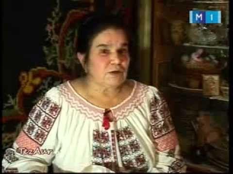 Tezaur - Antonina Rusu - mester popular la Moldova 1