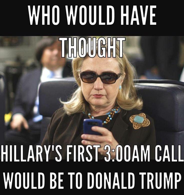 Lock the Clinton trash up!