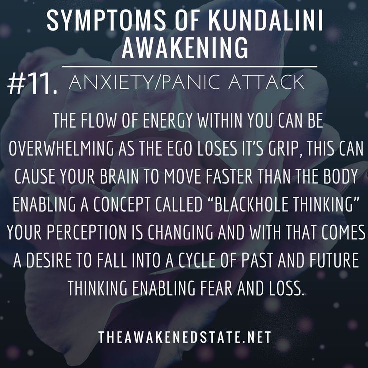 """This is very common for beginners on the path but can also creep up during intense energy shifts or when you're very ungrounded. Sometimes it can be from feeling energy without realizing it or perhaps a crowd or even a thought triggered the anxiety. Regardless the flow of energy within you can be overwhelming as the Ego loses it's grip, this can cause your brain to move faster than the body enabling a concept called """"blackhole thinking"""". Your perception is changing..."""