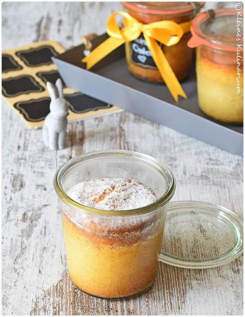 Eierlikörkuchen im Glas