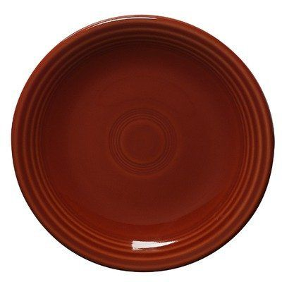 Fiesta 6-1/8-Inch B and B Plate, Paprika by Fiesta. $10.76. Fully vitrified china with a lead and cadmium free glaze. 5-year chip warranty. Dishwasher, microwave and oven safe. Made in the USA since 1936. Includes one B&B Plate. Fiesta 6-1/8-Inch B and B Plate manufactured by The Homer Laughlin China Company. America's largest domestic producer of dinnerware, and the sole manufacturer of all Fiesta dinnerware. All Fiesta pieces are Microwave safe, Oven-proof, Dishwasher...
