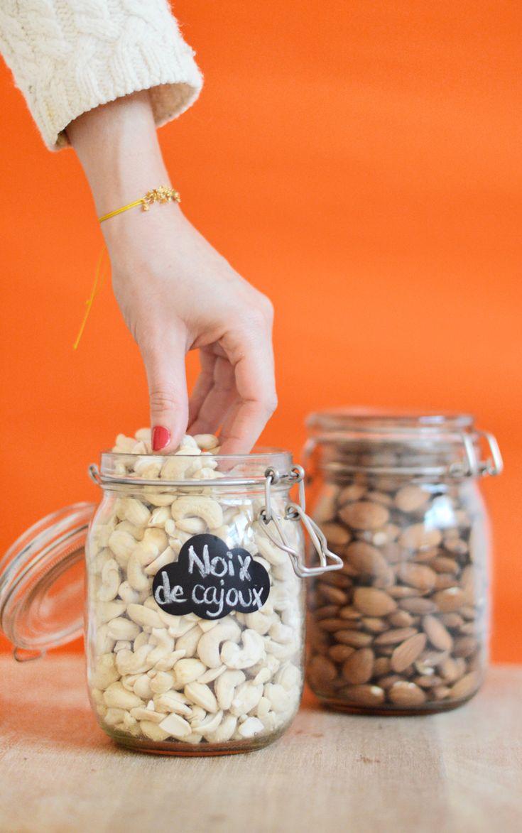 Idée de snack healthy : les oléagineux ! (noix de cajoux, amandes, noisettes, noix ...) www.sweetandsour.fr