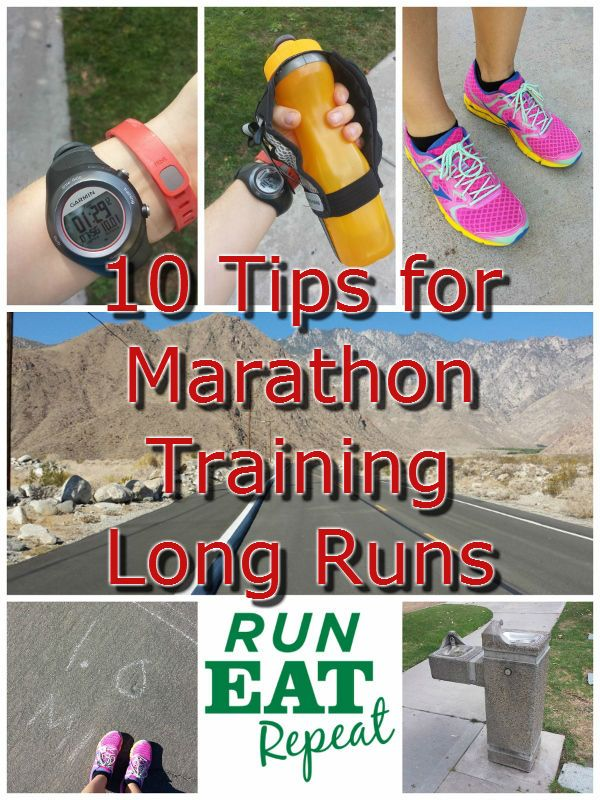 10 Tips to Survive Your Long Run. Marathon and half marathon training tips. Running blog. Running more than 18 miles and need some support? Check out these helpful hints!
