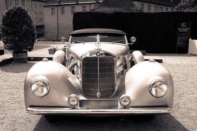 1935 Mercedes Benz 500 K by Erdmann & Rossi