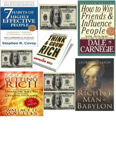 eBook - PDF. Free Shipping Think and Grow Rich The 7 Habits of Highly Effective People The Richest Man in Babylon The Science of Getting Rich How to wind Friends and Influence People