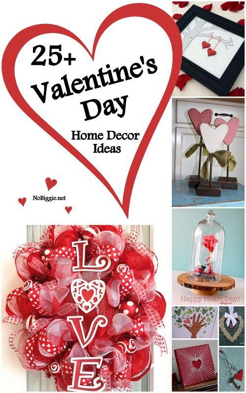 25+ Valentine's Day Home Decor Ideas - NoBiggie.net