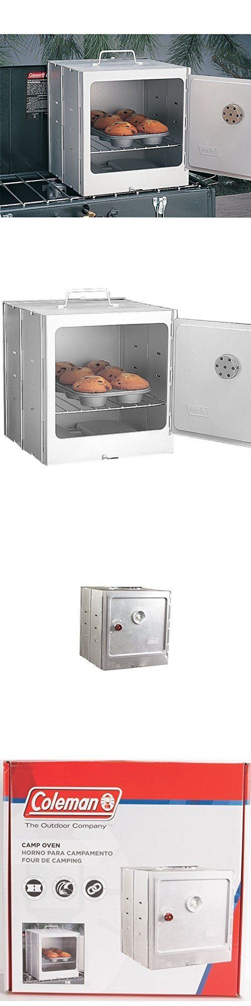 Camping Ovens 181387: Coleman Camp Baking Portable Oven Camping Stove Outdoor Folds Flat Campsite -> BUY IT NOW ONLY: $38.69 on eBay!
