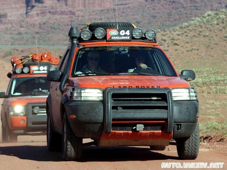 Land Rover G4 Edition Freelander 2003