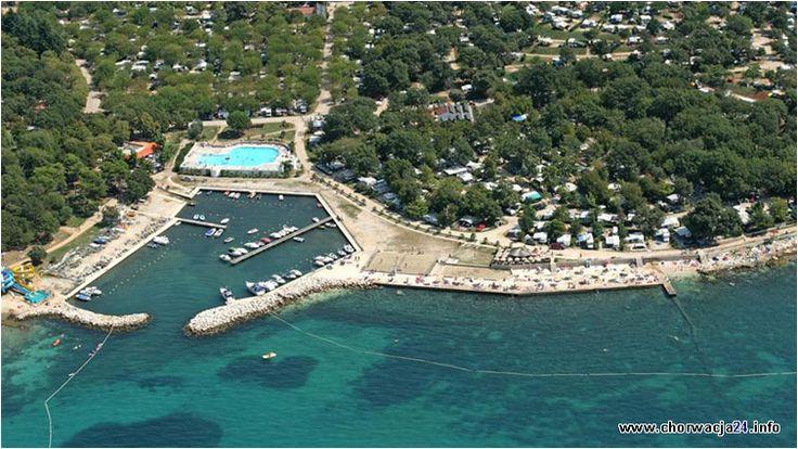 Camping Zelena Laguna jak nazwa wskazuje usytuowany jest w lagunie nieopodal miasta Porec na półwyspie Istria. #istria #porec #chorwacja