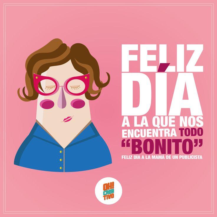 #FelizDíaMamá #Publicistas #Illustration