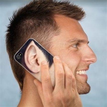 Captain Spock Ohr iPhone Case on http://www.drlima.net
