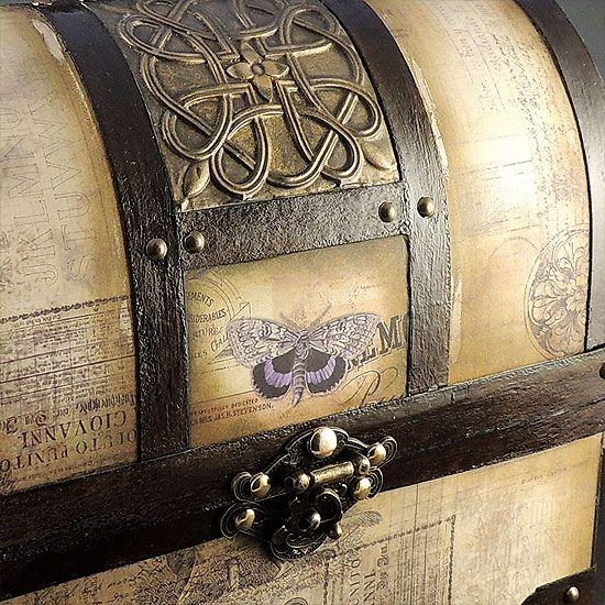 Pirate Treasure Chest by Samantha Braund