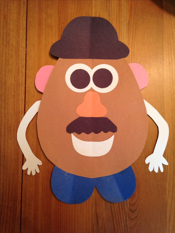 Mr. Potato Head Craft - Toy Story 3 Movie Night - Disney Movie Night - Family Movie Night