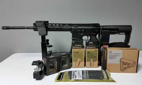 A look at the Magpul accessories (pre-installation) that my wife chose for her new VPS-15 rifle from Vidalia Police Supply.