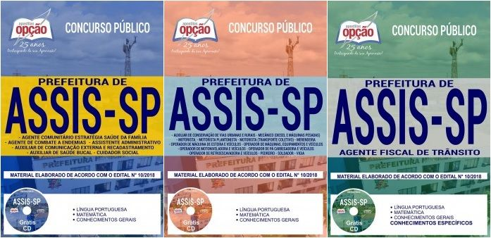 Apostilas Preparatorias Concurso Prefeitura Municipal De Assis