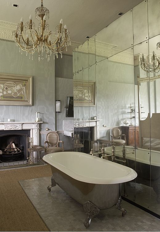 Babington House Case Study Open Plan Bathrooms