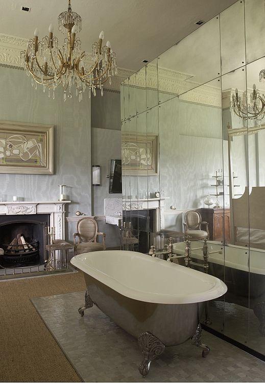 Babington House Case Study Open Plan Bathrooms