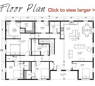 40x60 floor plan pre designed great plains western horse barn home kit image