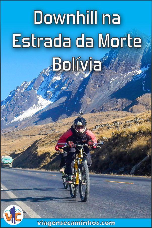 Estrada Da Morte De Bicicleta Pela Estrada Mais Perigosa Do