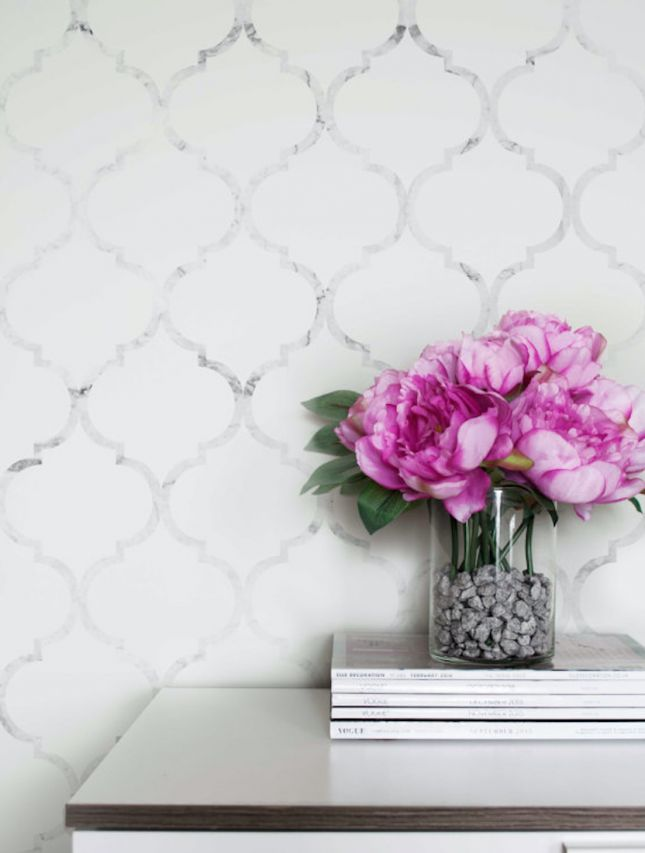 15 Removable Wallpapers Renters Can Put *Everywhere* via Brit + Co