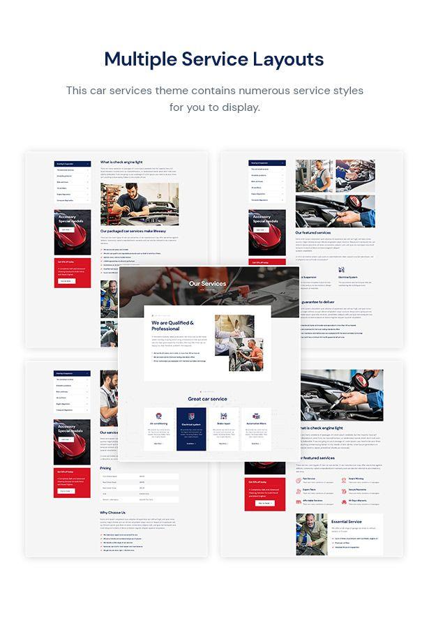 Carutos Car Repair Services Auto Parts Wordpress Theme Car Repair Service Auto Mechanic Shop Auto Repair Shop