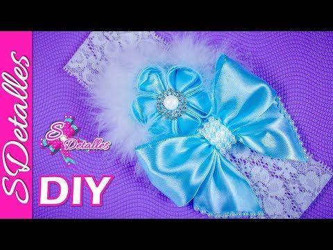 Como hacer Cintillos o Diademas: Cintillo o Diadema para Bebé #12 / | Video# 78 | SDetalles | DIY - YouTube