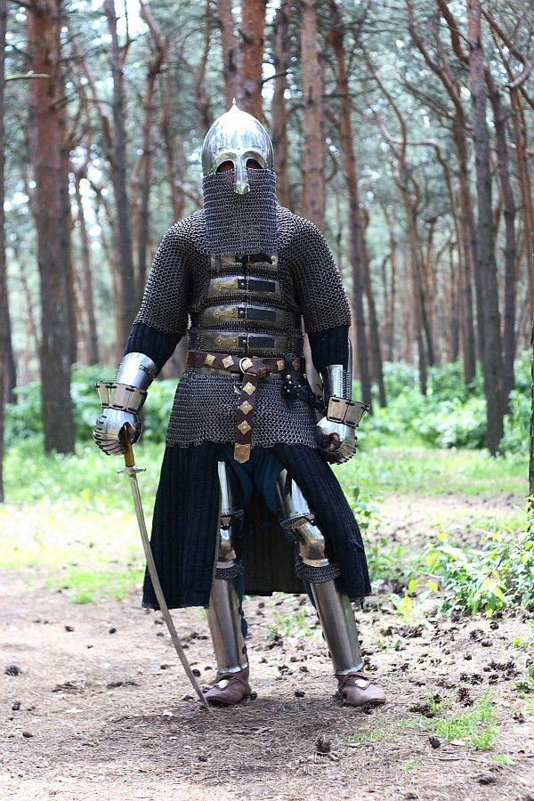 Medieval Slavic Helm Armor Viking armor, Historical armor, M