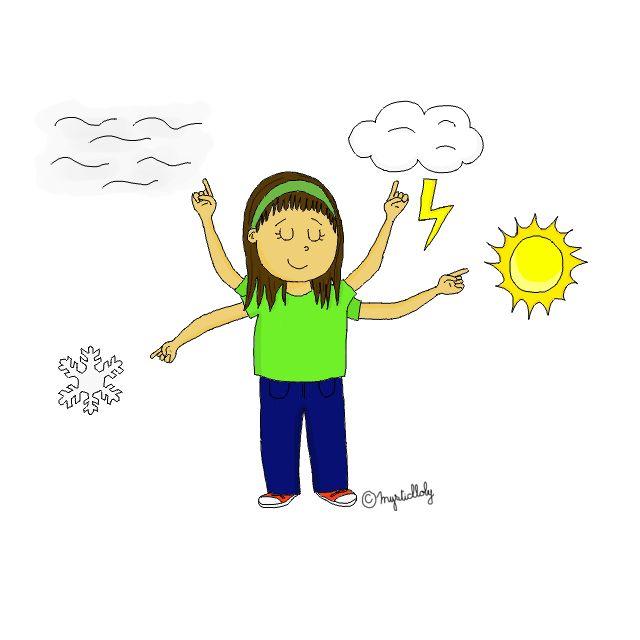 Responsable météo - Journal de bord d'une instit' débutante