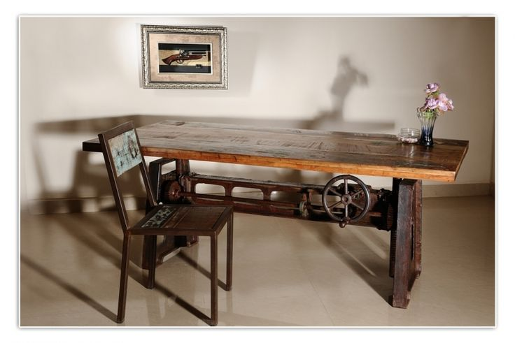 Industrial Adjustable-height Coffee Table, Natural Reclaimed - Google  Search | deck landscape ideas | Pinterest | Industrial, Category and  Searches - Industrial Adjustable-height Coffee Table, Natural Reclaimed