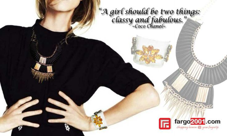 Let's Get Classy and Fabulous with Fashion Products from Fargo2001.com ! http://fargo2001.com/fashion-299