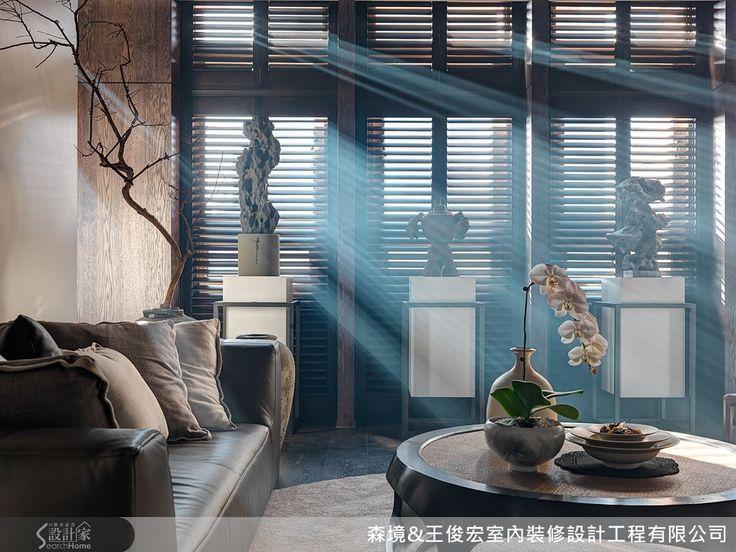 用藝術玩味空間,透過現代架構,營造如詩般的意境-森境&王俊宏室內裝修設計工程有限公司-王俊宏