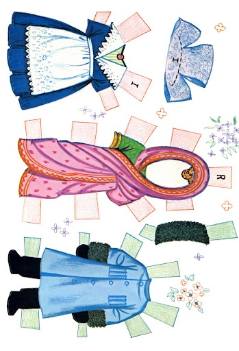 Paper Dolls: https://picasaweb.google.com/116764234929864480709/PaperDollsItSASmallWorld#