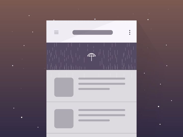 Dribbble - Pull down to refresh_Freebie - Weather Concept by Yup Nguyen