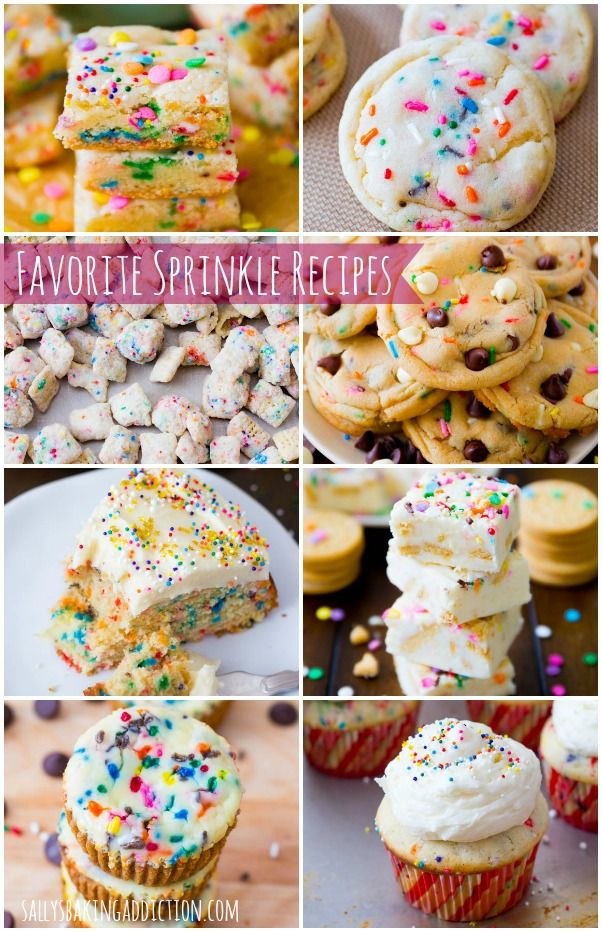 All of my favorite sprinkle recipes in one place!