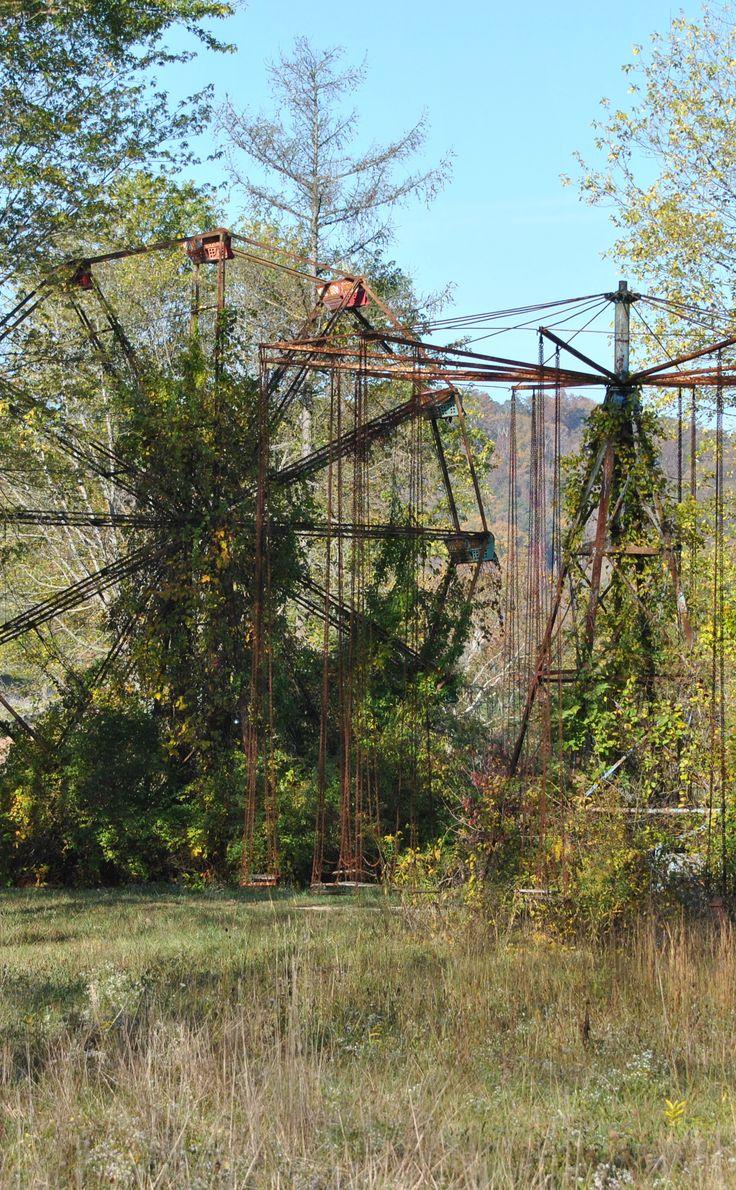 Lake Shawnee Amusement Park (abandoned) | Travel | Vacation Ideas | Road Trip | …Lisa Matthijs