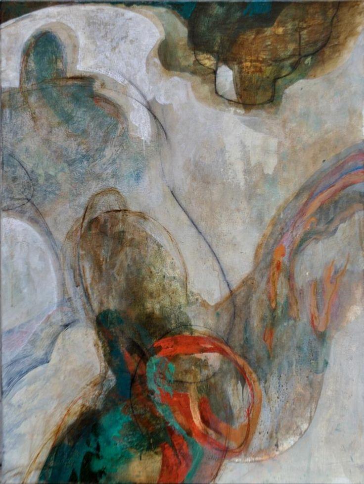 Diletta Boni - Untitled - Febbraio 2017 - Arylic on canvas - 80x60cm