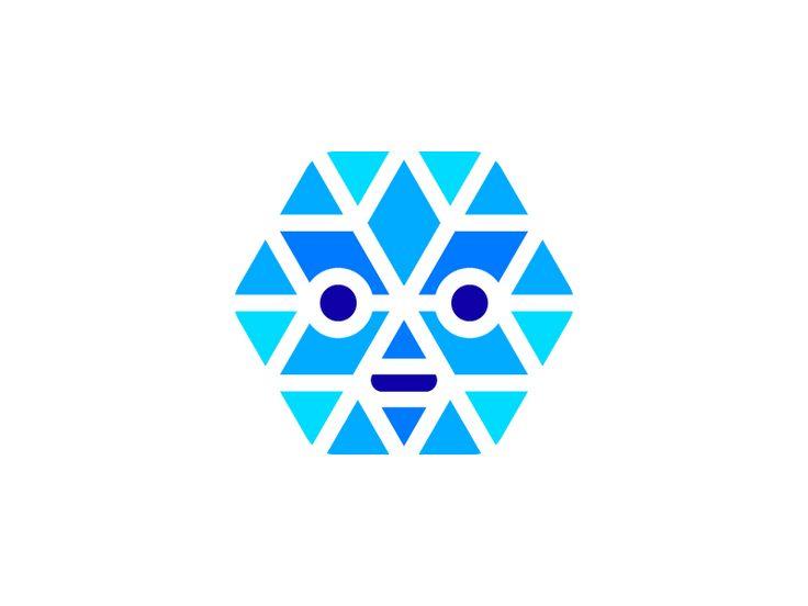 Snowbot logo ❄️️ +  by Vadim Carazan