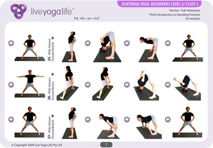Yoga Elderly Beginners Ashtanga Yoga Beginners Class 5