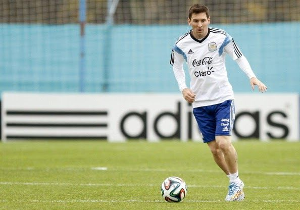 """The Legend Lionel Messi: Messi """"the modest"""" seeking to enter club of greats..."""