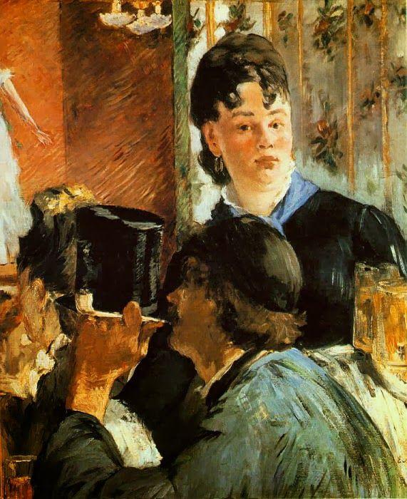 Η σερβιτόρα (1879)