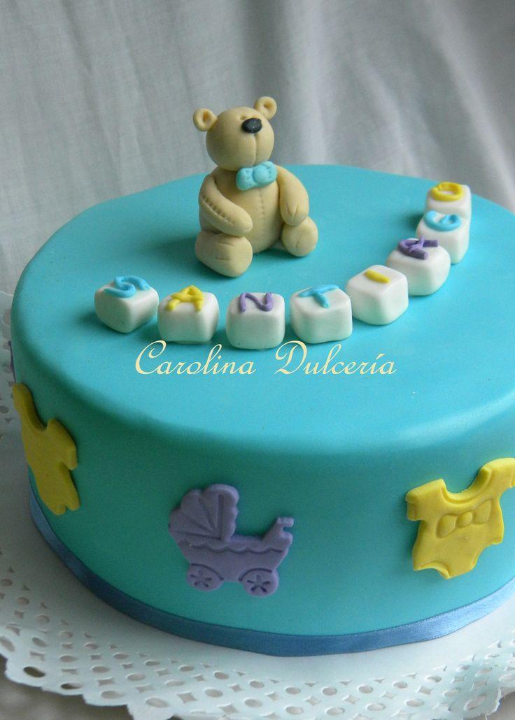 Torta baby shower osito Little bear cake
