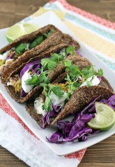 Blackened Tilapia Fish Tacos | Shared via www.ruled.me