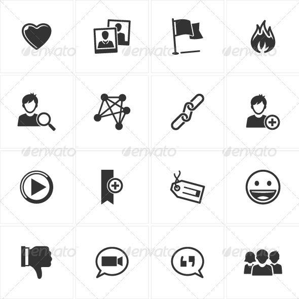 Social Media Icons-Set 2