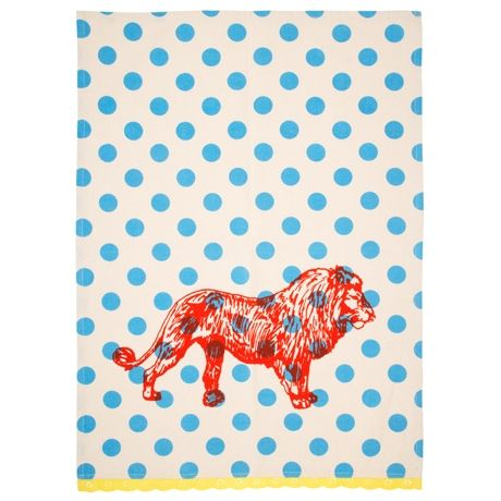 Spots Tea Towel 50x70cm | Freedom Furniture and Homewares $14.95 #freedomaustralia #christmas