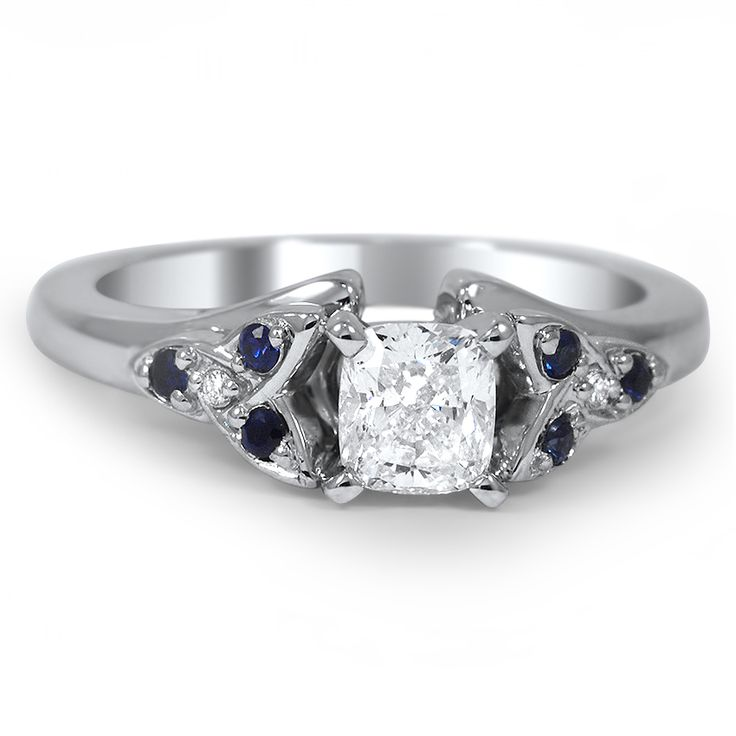 rings large knot engagement love diamond with pool in finn candice ring white diamonds by modern black products gold