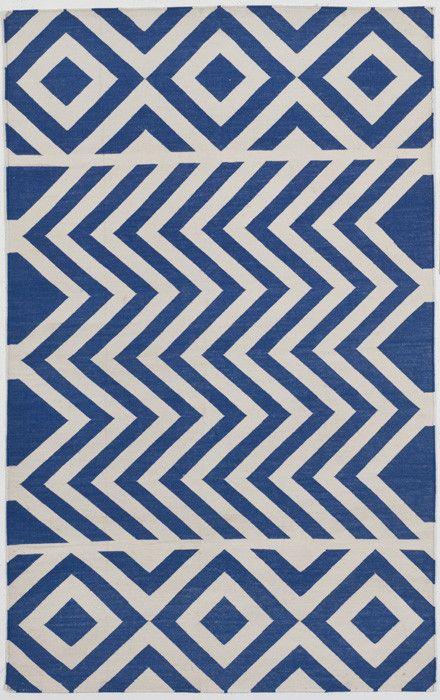 Indigo Lupe Cotton Carpet