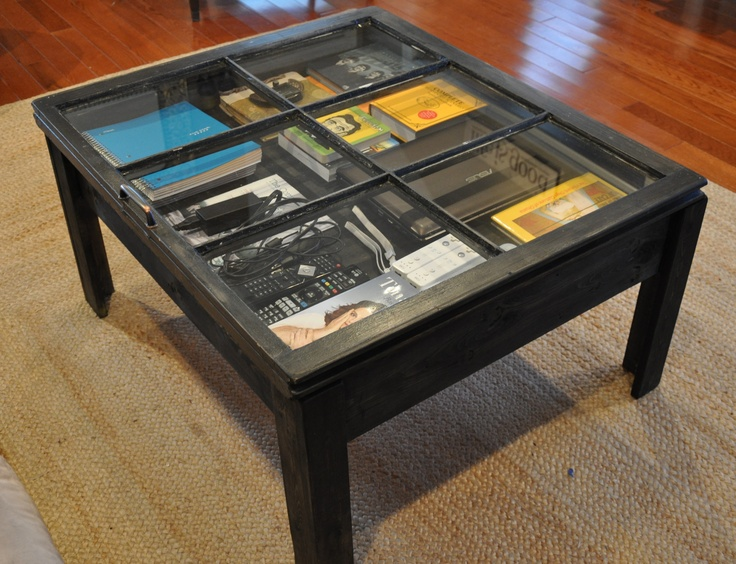 Window Frame Coffee Table Found An Old On The Curb That I