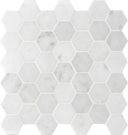 OUR SUPPLIER - montage tile Sirocco HEXAGON Ice