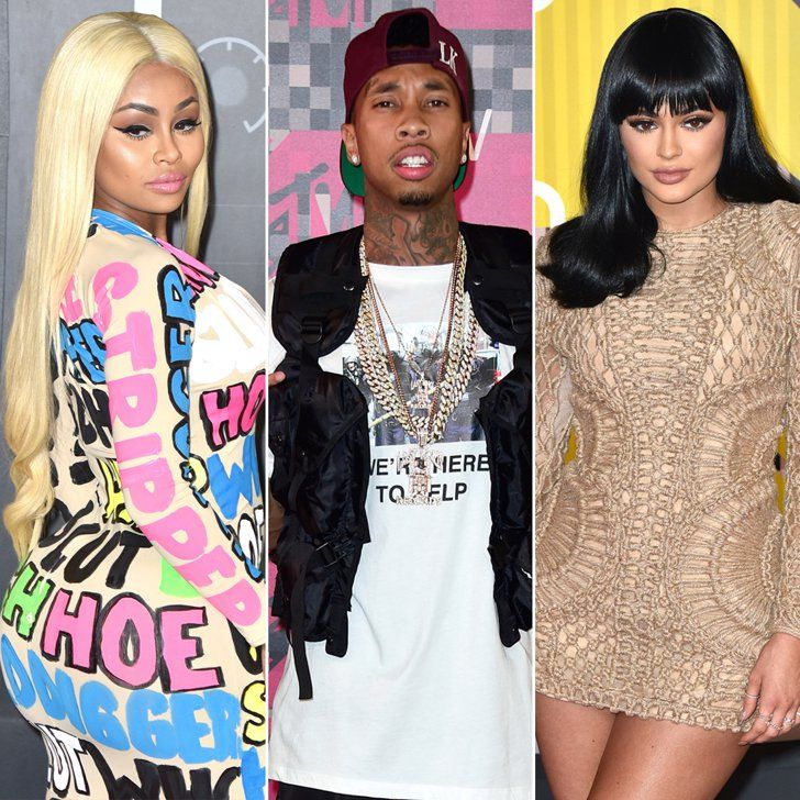 Pin for Later: 5 Awkward VMAs Run-Ins We Would Have Loved to See — and 1 We Actually Did Blac Chyna, Tyga, and Kylie Jenner
