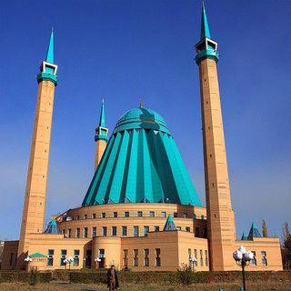 Mosque in Pavlodar, Kazakhstan